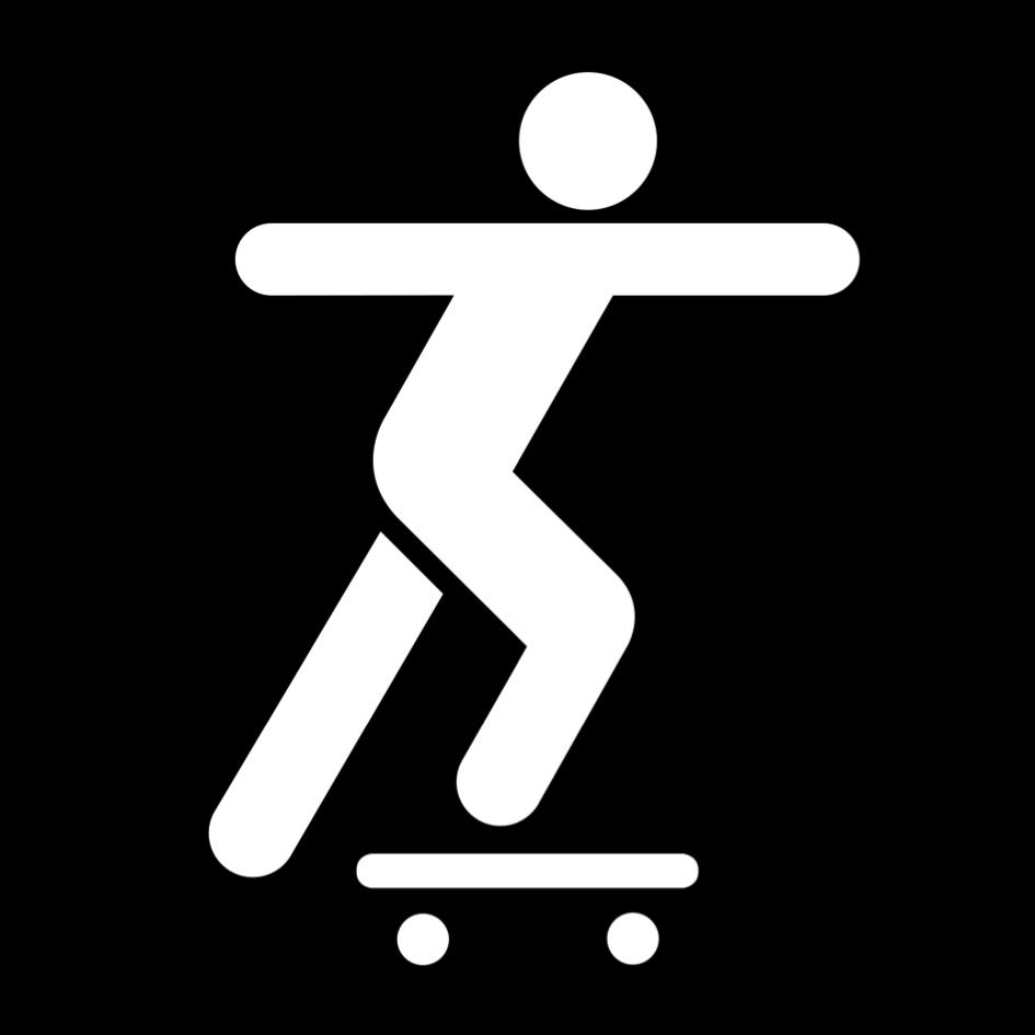 Skateskylt