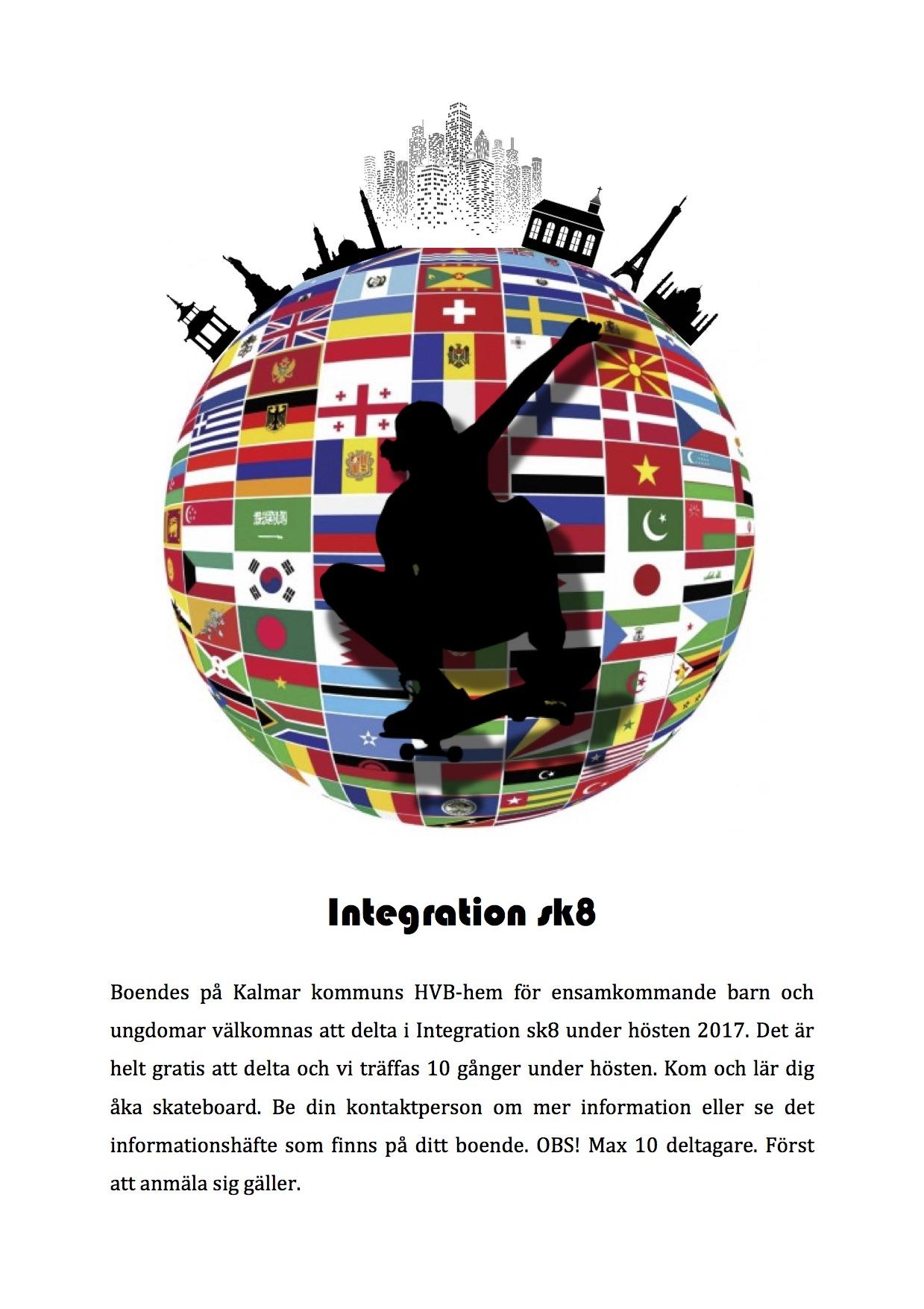Integration Sk8 - Poster