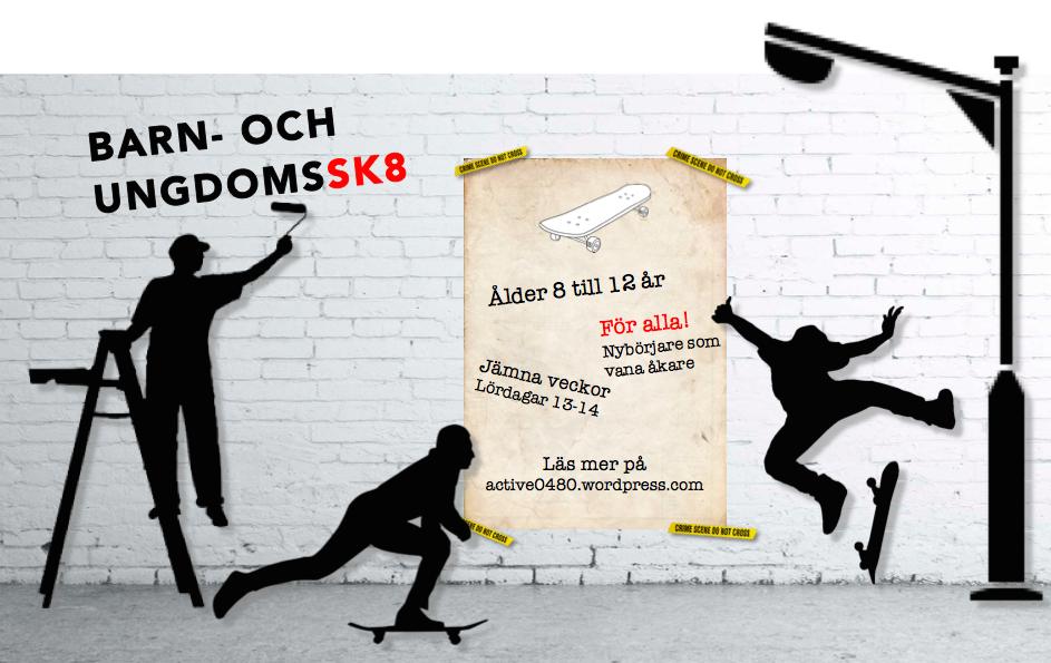 Barn och ungdomssk8 hösten 2017